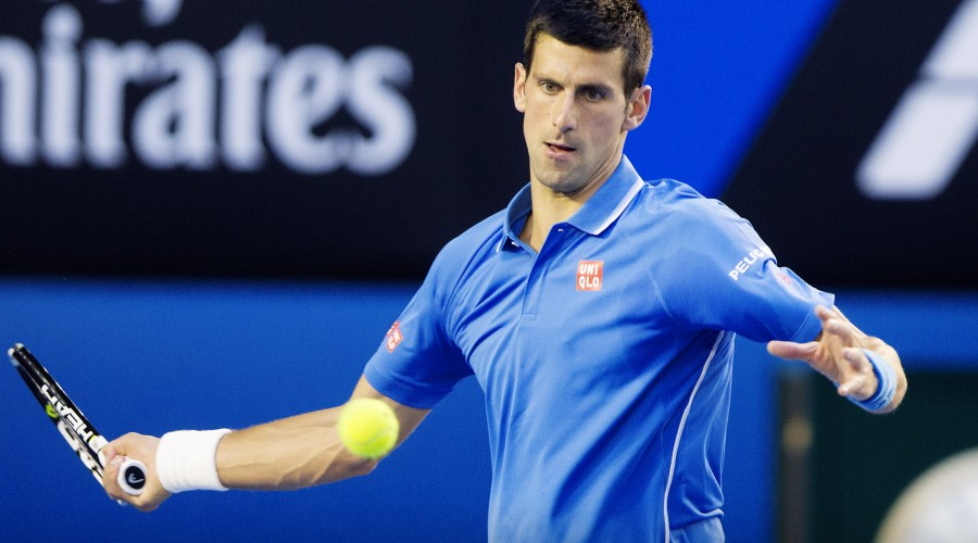MELBOURNE,AUSTRALIA,28.JAN.15 - TENNIS - ATP World Tour, Grand Slam, Australian Open. Image shows Novak Djokovic (SRB). Photo: GEPA pictures/ Matthias Hauer