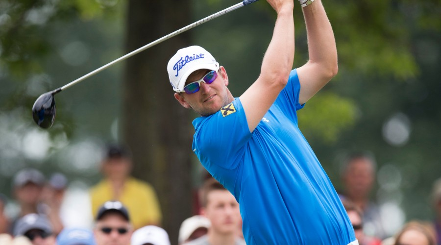 AKRON,OHIO,USA,09.AUG.15 - GOLF - PGA Tour, World Golf Championship, Bridgestone Invitational, Firestone Country Club. Image shows Bernd Wiesberger (AUT). Photo: GEPA pictures/ USA Today/ Greg Bartram - ATTENTION - COPYRIGHT FOR AUSTRIAN CLIENTS ONLY - FOR EDITORIAL USE ONLY