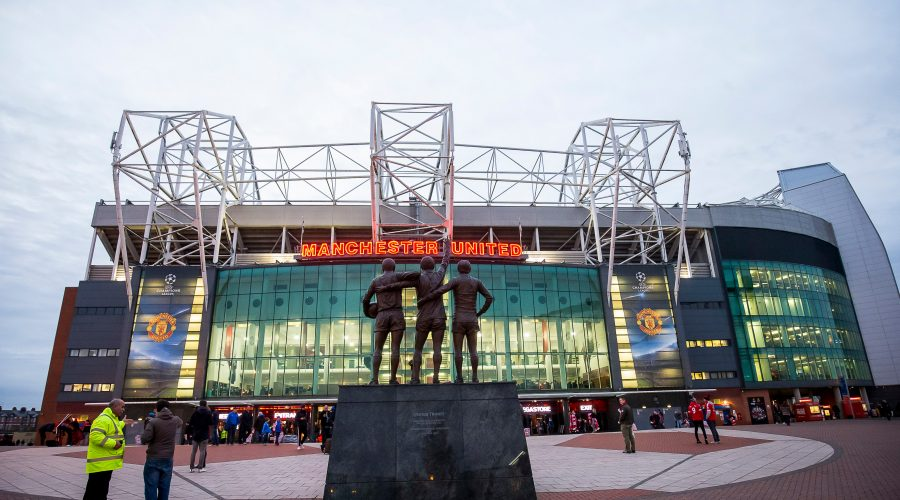 MANCHESTER,ENGLAND,25.NOV.15 - SOCCER - UEFA Champions League, group stage, Manchester United vs PSV Eindhoven. Image shows the Old Trafford stadium. Photo: GEPA pictures/ Pro Shots/ Joep Leenen - ATTENTION - COPYRIGHT FOR AUSTRIAN CLIENTS ONLY