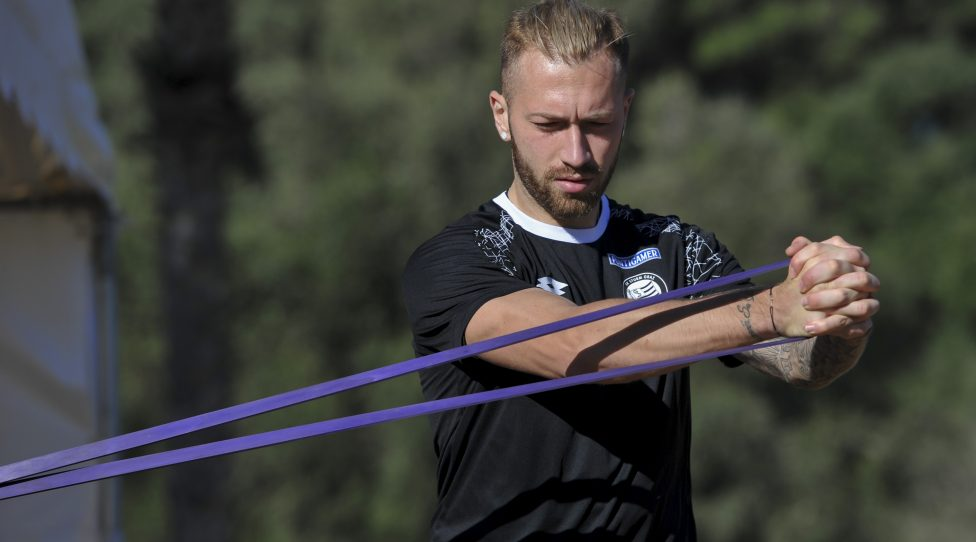 SOTOGRANDE,SPAIN,17.JAN.18 - SOCCER - tipico Bundesliga, SK Sturm Graz, training camp. Image shows Peter Zulj (Sturm). Photo: GEPA pictures/ Martin Hoermandinger