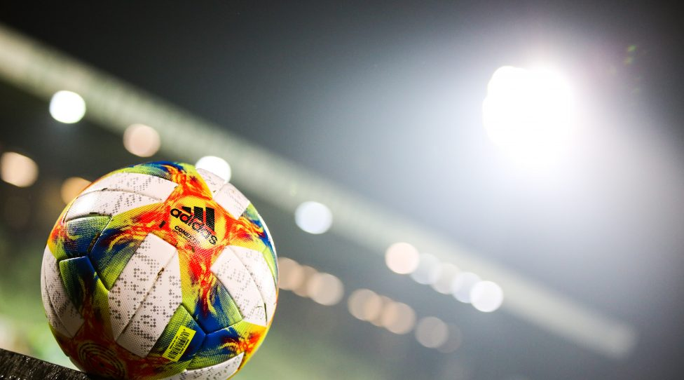 MATTERSBURG,AUSTRIA,01.DEC.18 - SOCCER - tipico Bundesliga, SV Mattersburg vs FC Admira Wacker Moedling. Image shows a feature of the bundesliga ball. Photo: GEPA pictures/ Michael Meindl