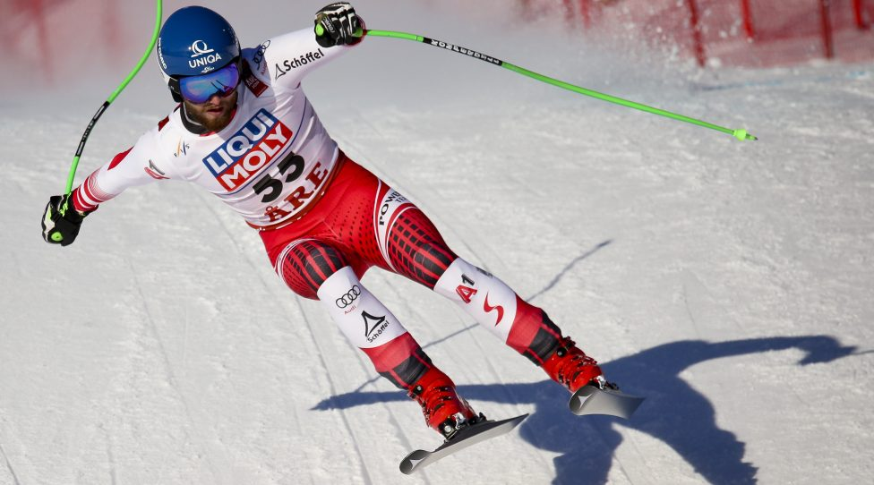 ARE,SWEDEN,07.FEB.19 - ALPINE SKIING - FIS Alpine World Ski Championships, downhill training, men. Image shows Marco Schwarz (AUT). Photo: GEPA pictures/ Wolfgang Grebien