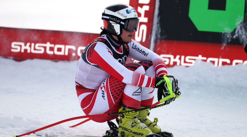 ARE,SWEDEN,10.FEB.19 - ALPINE SKIING - FIS Alpine World Ski Championships, downhill, ladies. Image shows the disappointment of Ramona Siebenhofer (AUT). Photo: GEPA pictures/ Mario Kneisl