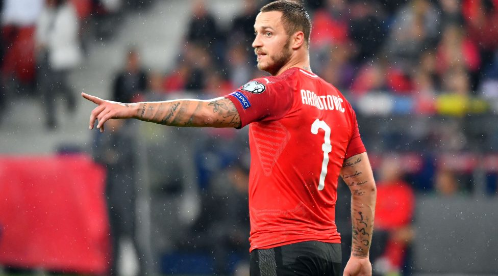 SALZBURG,AUSTRIA,06.SEP.19 - SOCCER - UEFA European Championship 2020, European Qualifiers, OEFB international match, Austria vs Latvia. Image shows Marko Arnautovic (AUT). Photo: GEPA pictures/ Amir Beganovic