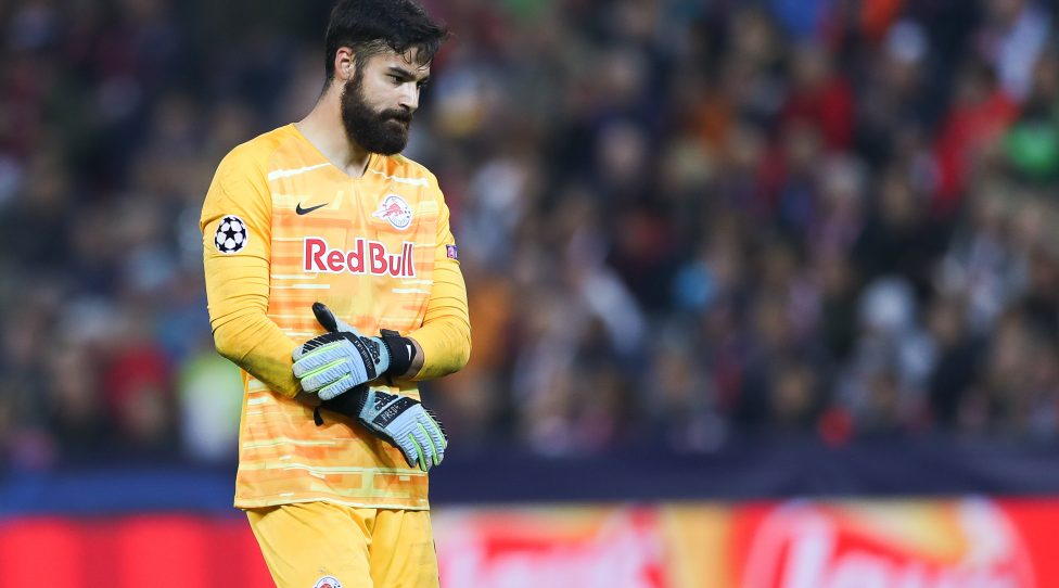SALZBURG,AUSTRIA,23.OCT.19 - SOCCER - UEFA Champions League, group stage, Red Bull Salzburg vs SSC Napoli. Image shows disappointment of Carlos Miguel Coronel (RBS). Photo: GEPA pictures/ Patrick Steiner