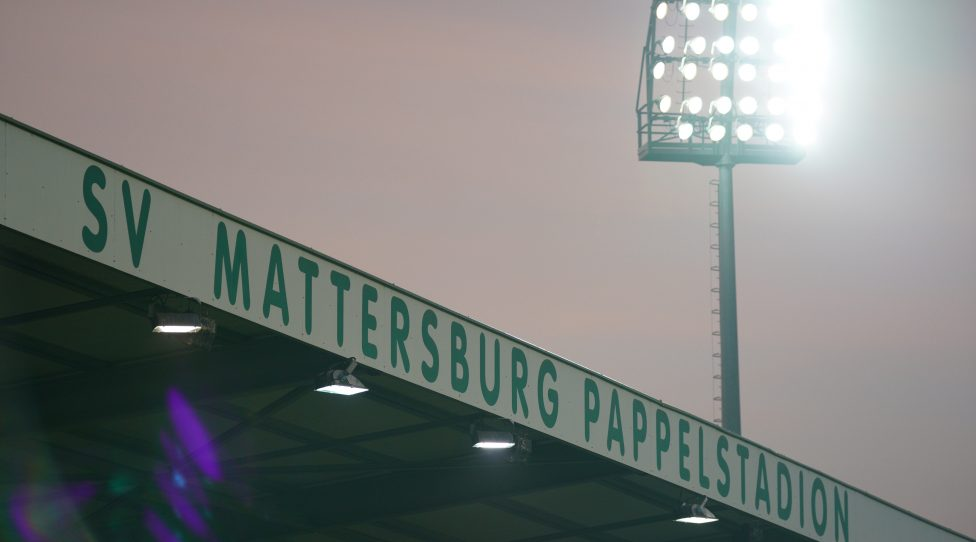 MATTERSBURG,AUSTRIA,08.DEC. 19 - SOCCER - tipico Bundesliga, SV Mattersburg vs FC Admira Wacker Moedling.  Image shows shows a feature of the Pappelstadion (Mattersburg).  Photo: Gepa pictures/ Johannes Friedl