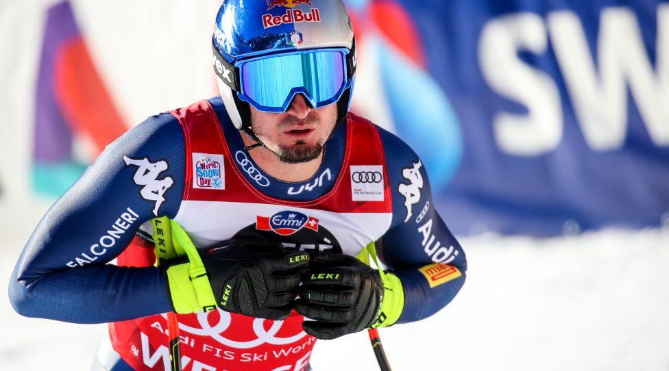 WENGEN,SWITZERLAND,16.JAN.20 - ALPINE SKIING - FIS World Cup, downhill training, men. Image shows Dominik Paris (ITA). Photo: GEPA pictures/ Matic Klansek