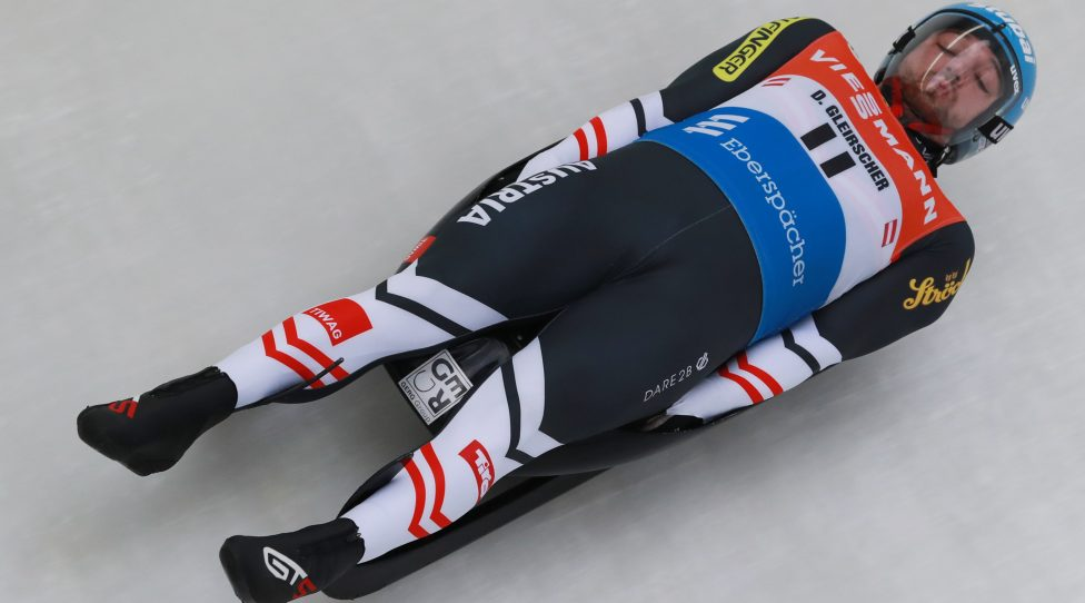 INNSBRUCK,AUSTRIA,19.NOV.19 - LUGE,SKELETON - training AUT team Luge/ Skeleton. Image shows David Gleirscher (AUT). Photo: GEPA pictures/ Andreas Pranter