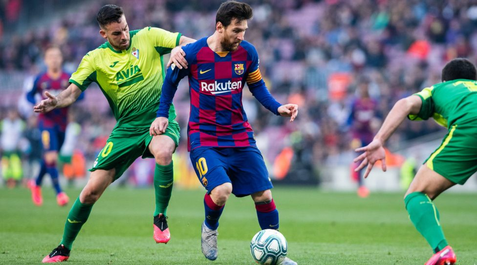 February 22, 2020, Barcelona, BARCELONA, SPAIN: 22nd February 2020 Camp Nou, Barcelona, Catalonia, Spain La Liga Football, Barcelona versus Eibar Lionel Messi of FC Barcelona, Barca during La Liga match between Eibar at FC Barcelona at Camp Nou Stadium Soccer: Liga Iberdrola - Real Betis v Athletic Club PUBLICATIONxINxGERxSUIxAUTxONLY - ZUMAa181 20200222zaaa181112 Copyright: xMarcxGonzalezxAlomax