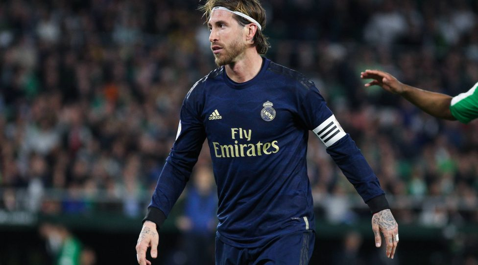 March 8, 2020, Sevilla, SEVILLA, SPAIN: SEVILLA, SPAIN - MARCH 08: Sergio Ramos, of Real Madrid lamenting during La Liga football match played between Real Betis and Real Madrid at Benito Villamarin stadium on March 08, 2020 in Sevilla, Spain. Sevilla SPAIN - ZUMAa181 20200308zaaa181059 Copyright: xIrinaxR.xHx