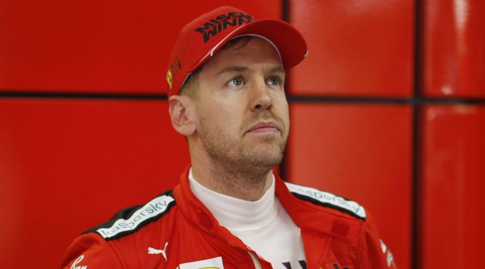 February 21, 2020, Barcelona, Catalonia, Spain: February 21, 2020 - Circuit de Barcelona-Catalunya, Montmelo, Spain - Formula One preseason 2020 Sebastian Vettel of Germany driving the 5 Scuderia Ferrari SF1000 in the box. Formula One preseason 2020.Feb 21th PUBLICATIONxINxGERxSUIxAUTxONLY - ZUMAa178 20200221zapa178008 Copyright: xEricxAlonsox