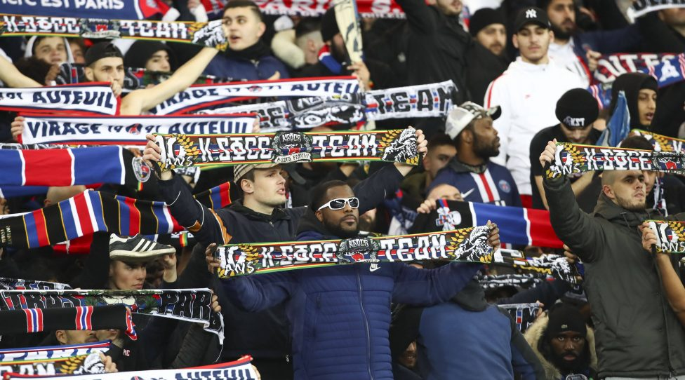 ambiance supporters parisiens FOOTBALL : PSG vs Monaco - Ligue 1 - 12/01/2020 GwendolineLeGoff/Panoramic PUBLICATIONxNOTxINxFRAxITAxBEL