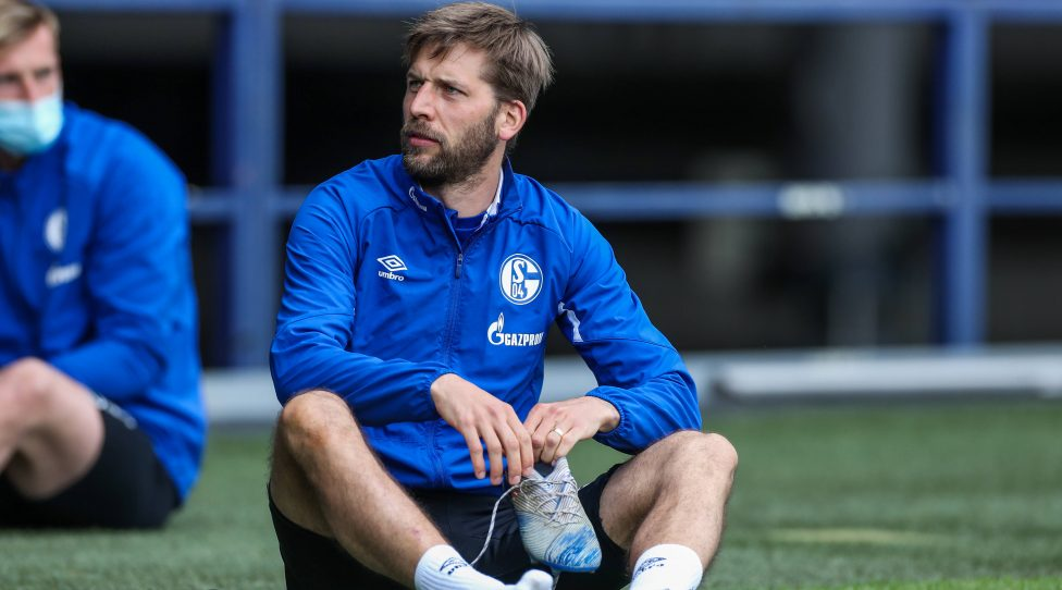 POOLFOTOS - 12.05.2020 - Training FC Schalke 04 12.05.2020, Fussball, Saison 2019/2020, Bundesliga, POOLFOTOS - Training FC Schalke 04, Guido BURGSTALLER FC Schalke 04 Quelle: FC Schalke 04/RHR-FOTO/Tim Rehbein Gelsenkirchen Veltins Arena NRW Deutschland *** POOLFOTOS 12 05 2020 Training FC Schalke 04 12 05 2020, Football, Season 2019 2020, Bundesliga, POOLFOTOS Training FC Schalke 04, Guido BURGSTALLER FC Schalke 04 Source FC Schalke 04 RHR FOTO Tim Rehbein Gelsenkirchen Veltins Arena NRW Germany