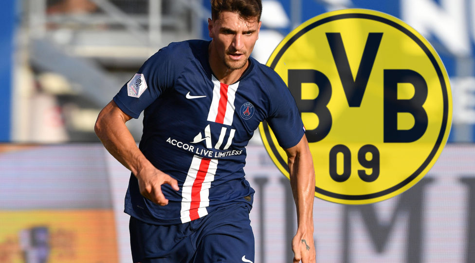 FOTOMONTAGE: Thomas MEUNIER PSG wechselt zu Borussia Dortmund. Archivfoto:Thomas MEUNIER PSG, Aktion,Einzelaktion,Einzelbild, Freisteller,Ganzkoerperaufnahme, ganze Figur. 1.FC Nuernberg-Paris Saint Germain PSG 1-1, am 20.07.2019 Max Morlock Stadion Nuernberg,Testspiel, DFL REGULATIONS PROHIBIT ANY USE OF PHOTOGRAPHS AS IMAGE SEQUENCES AND/OR QUASI-VIDEO.  *** FOTOMONTAGE Thomas MEUNIER PSG changes to Borussia Dortmund Archivfoto Thomas MEUNIER PSG , action, single action, single picture, clipping, whole body shot, whole figure 1 FC Nuernberg Paris Saint Germain PSG 1 1, on 20 07 2019 Max Morlock Stadium Nuernberg,Test game, DFL REGULATIONS PROHIBIT ANY USE OF PHOTOGRAPHS AS IMAGE SEQUENCES AND OR QUASI VIDEO