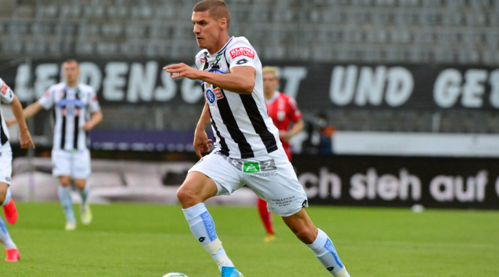 GRAZ,AUSTRIA,21.JUN.20 - SOCCER - tipico Bundesliga, championship group, SK Sturm Graz vs Linzer ASK. Image shows Kiril Despodov (Sturm) Photo: GEPA pictures/ Simona Donko