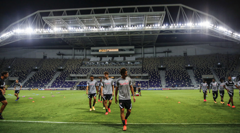 TEL AVIV,ISRAEL,21.SEP.20 - SOCCER - UEFA Champions League, play off, Maccabi Tel Aviv vs Red Bull Salzburg, preview, training RBS. Image shows an overview of the Bloomfield Stadium. Photo: GEPA pictures/ Jasmin Walter