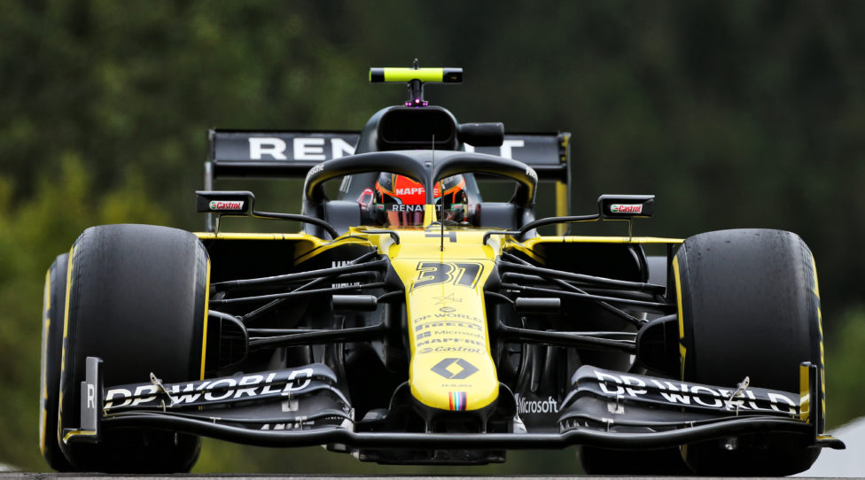 SPA,BELGIUM,28.AUG.20 - MOTORSPORTS, FORMULA 1 - Grand Prix of Belgium, Circuit de Spa-Francorchamps, free practice. Image shows Esteban Ocon (FRA/ Renault). Photo: GEPA pictures/ XPB Images/ Moy - ATTENTION - COPYRIGHT FOR AUSTRIAN CLIENTS ONLY