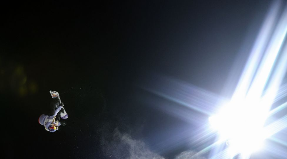 SANKT GEORGEN OB MURAU,AUSTRIA,09.JAN.21 - SNOWBOARD - FIS World Cup, big air. Image shows Anna Gasser (AUT). Photo: GEPA pictures/ Christian Walgram