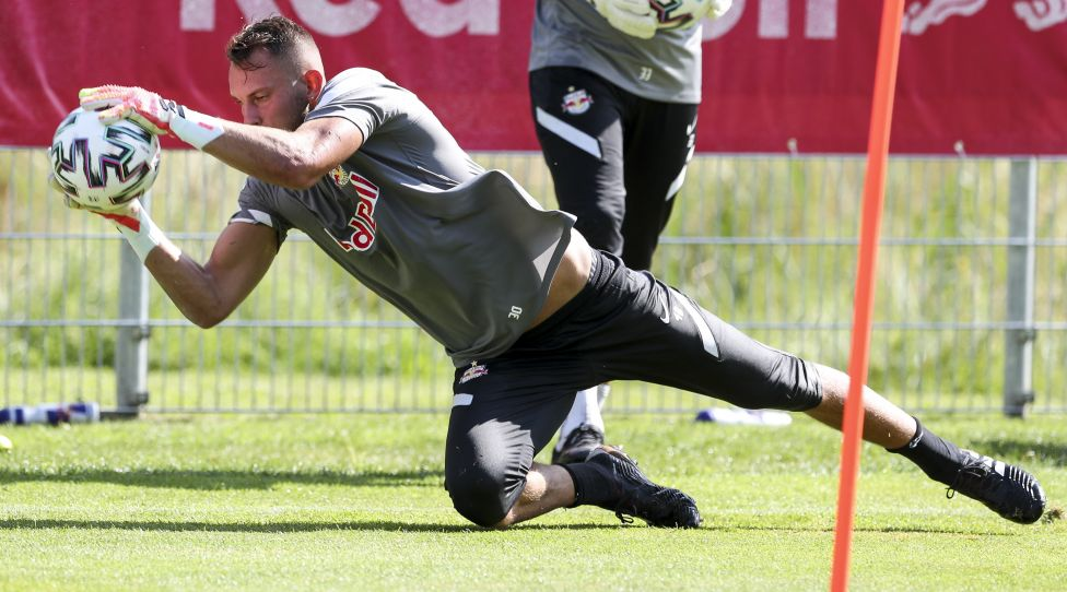 BRAMBERG,AUSTRIA,01.AUG.20 - SOCCER - tipico Bundesliga, Red Bull Salzburg, training camp. Image shows Daniel Antosch (RBS). Photo: GEPA pictures/ Patrick Steiner