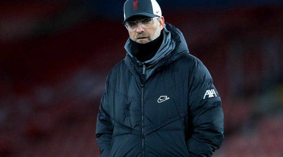 Jurgen Klopp File Photo File photo dated 04-01-2021 of Liverpool manager Jurgen Klopp. Issue date: Saturday January 30, 2021. FILE PHOTO EDITORIAL USE ONLY No use with unauthorised audio, video, data, fixture lists, club/league logos or live services. Online in-match use limited to 120 images, no video emulation. No use in betting, games or single club/league/player publica... PUBLICATIONxINxGERxSUIxAUTxONLY Copyright: xAdamxDavyx 57804000