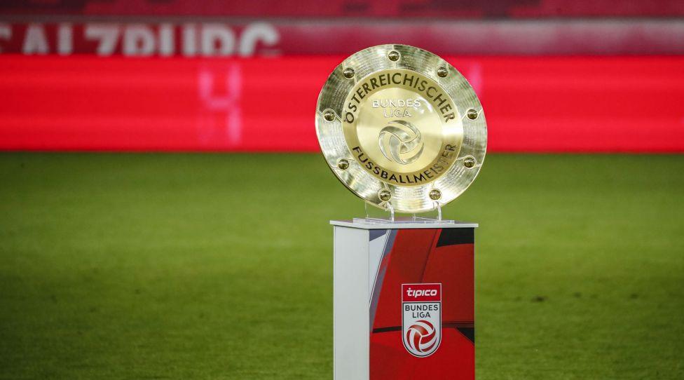 SALZBURG,AUSTRIA,01.JUL.20 - SOCCER - tipico Bundesliga, championship group, Red Bull Salzburg vs SK Sturm Graz. Image shows the Bundesliga trophy. Photo: GEPA pictures/ Jasmin Walter