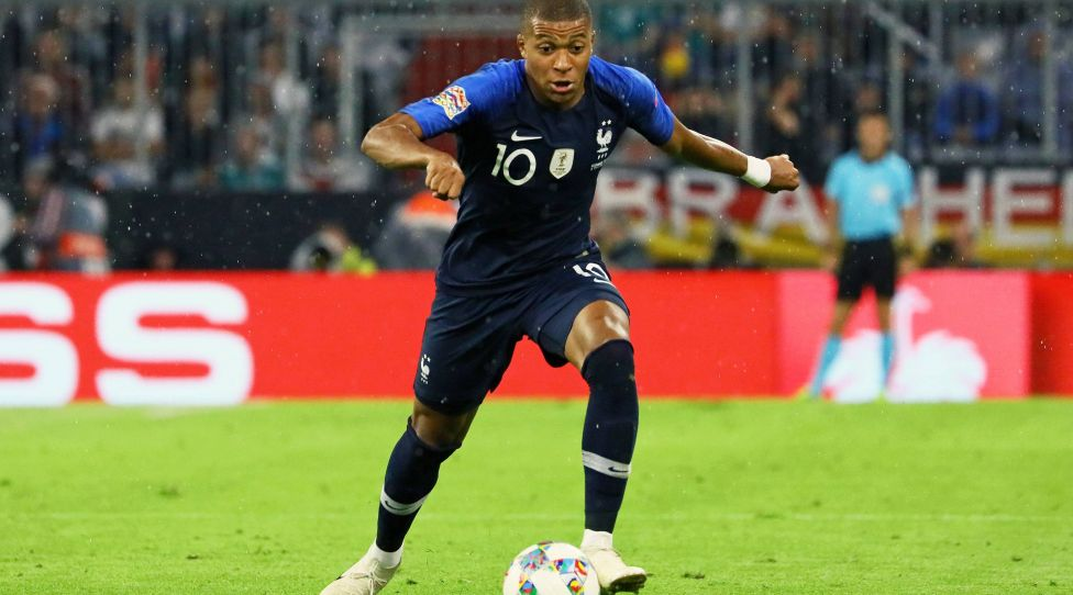 Freisteller Kylian Mbappe (Frankreich, France) - 06.09.2018: Deutschland vs. Frankreich, Allianz Arena München, UEFA Nations League, 1. Spieltag *** Cut Out Kylian Mbappe France France 06 09 2018 Germany vs France Allianz Arena Munich UEFA Nations League 1 Gameday